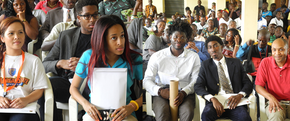Cross Section of Team MembersThe lovely and friendly faces of various students who took part in this wonderful exercise